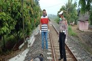 Pria Paruh Baya Warga Dusun IV Tewas Tertabrak KA di Serdang Bedagai