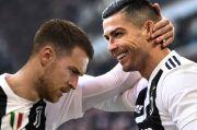 Keramahan Ronaldo Bikin Aaron Ramsey Takjub