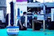 Berbasis Sinar UV, Robot VIOLETA Bisa Sterilisasi Covid-19
