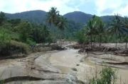 Amblas Akibat Banjir Badang, BPBD Kabupaten Dairi Bangun Gorong-Gorong