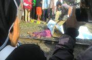 Terobos Palang Perlintasan, Suami Istri Tewas Ditabrak Kereta Api