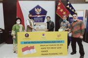 Diaspora Indonesia dan Sederet Aktor Senior Salurkan Alkes ke BNPB