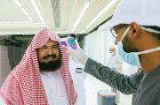 Pimpin Jamaah Tarawih, Imam Al-Sudais Diperiksa Suhu Tubuh saat Masuk Masjidil Haram