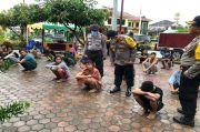 Puluhan Remaja Diduga Pelaku Tawuran Diangkut ke Polres Batubara