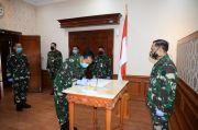 Brigjen TNI Totok Serahkan Jabatan Karo Humas Kemhan ke Kolonel Ignatius