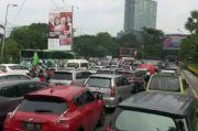 Hari Pertama PSBB Sidoarjo Lalu lintas Macet, Terminal Purabaya Tutup