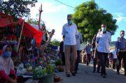 Blusukan ke Pasar, Bupati Lembata Minta Warga Terapkan Social Distancing