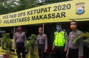 Polrestabes Makassar Bangun 13 Pos Pengamanan Operasi Ketupat
