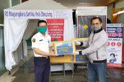 Serikat Pekerja BPJS Ketenagakerjaan Sumbang APD untuk 3 Rumah Sakit di Jabar