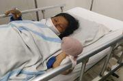 Sadis! Empat Jari Pedagang Cabai Putus Ditebas Perampok di Medan
