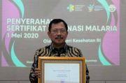 Sukses Eliminasi Kasus Malaria, Menkes Apresiasi 6 Kabupaten/Kota