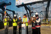 Pengerjaan Fisik Jembatan Tol Terpanjang di Indonesia Rampung