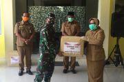 Kodim 1014 Pangkalan Bun Bantu APD ke Pemkab Kotawaringin Barat