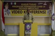 PSBB Diterapkan di Gorontalo, Gubernur Rusli Habibie Imbau Warga Patuhi Aturan