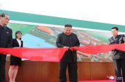 Kim Jong-un, antara Pabrik Pupuk Sunchon dan Bom Nuklir Korut