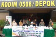 MNC Peduli Bagikan Sembako untuk Warga Depok Terdampak Corona