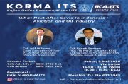 Gelar Korma, IKA ITS Jakarta Raya Menjaring Pemikiran untuk Pemulihan Pascapandemi