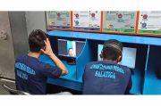 Tak Boleh Dikunjungi, Napi Rutan Salatiga Video Call dengan Keluarga