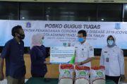 BPJS Naker Jakarta Timur Salurkan Bantuan Beras 2 Ton kepada Pekerja Korban PHK