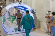 Cegah Corona dengan Gerbang Sterilisasi di Masjidil Haram