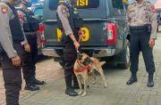 Polda Sulsel Siagakan Anjing Pelacak Dukung Pelaksanaan Operasi Ketupat