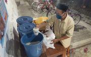 Wabah Corona Melahirkan Pasar Gratis Masjid