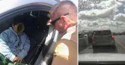 Wow! Mau Beli Lamborghini, Bocah 5 Tahun Kendarai Mobil di Jalan Tol