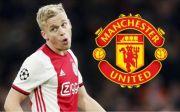 Ajax Setuju Lepas Van de Beek ke Manchester United