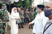 Menhan Prabowo Beri Penghormatan Terakhir Kepada Almarhum Djoko Santoso