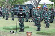 Panglima TNI Bacakan Apel Persada Saat Pimpin Upacara Pemakaman Djoko Santoso