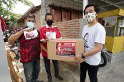 Gibran Salurkan Bantuan Ribuan Masker dari Puan Maharani