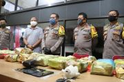 Dikemas dalam Plastik Teh, 65 Kg Sabu Jaringan Malaysia-Indonesia Disita