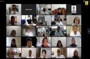Tingkatkan SDM, PUPR Gelar 4 Pelatihan Serentak Secara Online