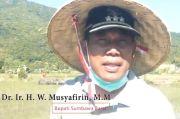 Bupati Sumbawa Barat Ikuti Gerakan Tanam Padi Serentak Nasional