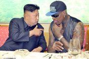 Dennis Rodman Bocorkan Pestanya dengan Kim Jong-un