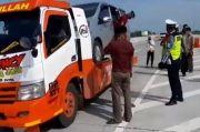 Kisah Pemudik yang Nekat Sembunyi di Kendaraan Towing demi Pulang ke Kampung Halaman