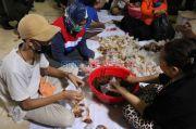 Masa PSBB, DPR dan DPRD Kompak Siapkan 22 Ribu Nasi Bungkus