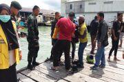 Prajurit Raider Selamatkan Emak-emak yang Coba Bunuh Diri Terjun ke Laut