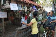 Warga Pekalongan Saling Bantu, Sayuran dan Lauk Gratis Diletakan di Pos Ronda