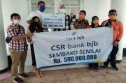 BJB Karawang Sumbang 2.000 Paket Sembako Senilai Rp500 Juta