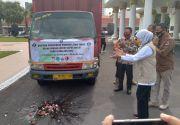 Pemprov Jatim Gelontor 11 Ton Beras untuk Dapur Umum di Malang Raya