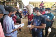 Cegah Covid-19, Pemprov DKI Salurkan Ribuan Obat Herbal untuk Kuli Beras di Cipinang