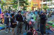 Jelang PSBB di Prabumulih Pejabat dan Pengunjung Pasar Tak Terapkan Physical Distancing