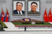 Rezim Kim Jong-un Dilaporkan Hapus Potret Raksasa Pendiri Korut