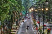 Bandung Raya Diguyur Hujan Ringan Siang-Malam, Suhu 20-30,2 Derajat
