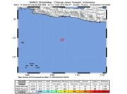 Gempa Bumi 4.4 SR Guncang Cilacap, Tak Berpotensi Tsunami