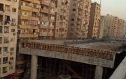 Jembatan Baru Tabrak Gedung Pemukiman Warga di Mesir