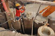 PDAM Surabaya Mulai Sambung Pipa yang Jebol di Gunung Anyar