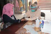 PSBB Malang Raya, Puluhan Pedagang Pasar Jalani Rapid Test