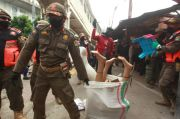 Pemkot Jakpus Tindak Tegas PKL Bandel di Tanah Abang